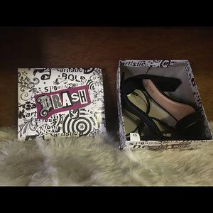 Brash NWT size 13 heels black